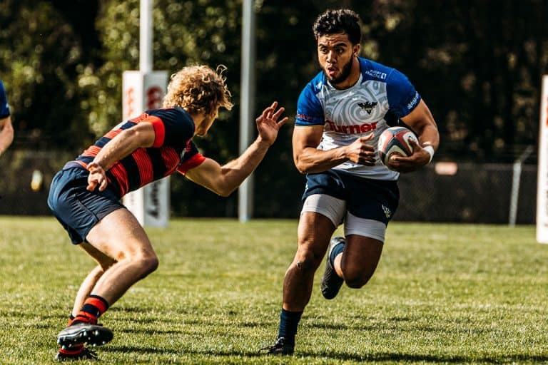 Glendale Raptors Academy Player Runs For A Try Against St. Marys